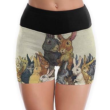 Amazon.com: Pantalones cortos de yoga para mujer de Pascua ...