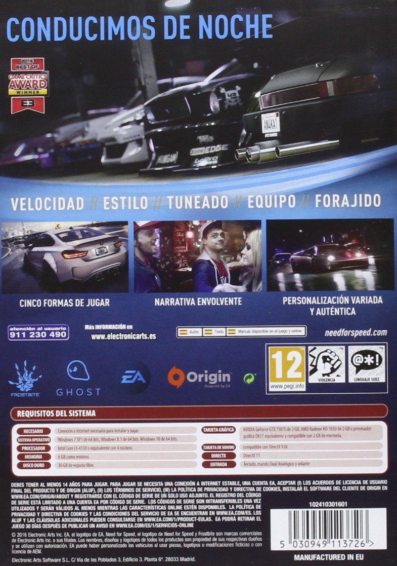 Need For Speed: PC: Amazon.es: Videojuegos