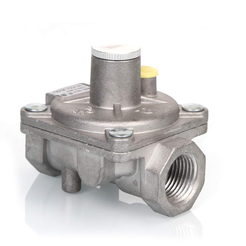 3.5KPa anmas rucci 102-B Gas Pipe in//Out,1//2 PSI LPG 10 W C Natural Gas Pressure Regulator C /& NG 5 W