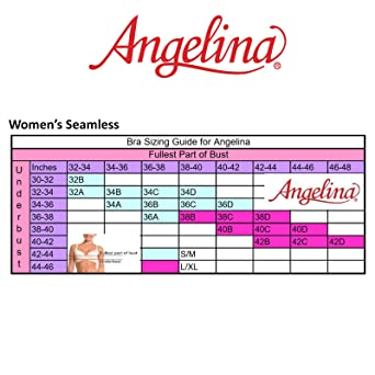 e2ebf07ddc935 Angelina Women s Seamless Nursing Bras with Ruched Cups (6-Pack ...