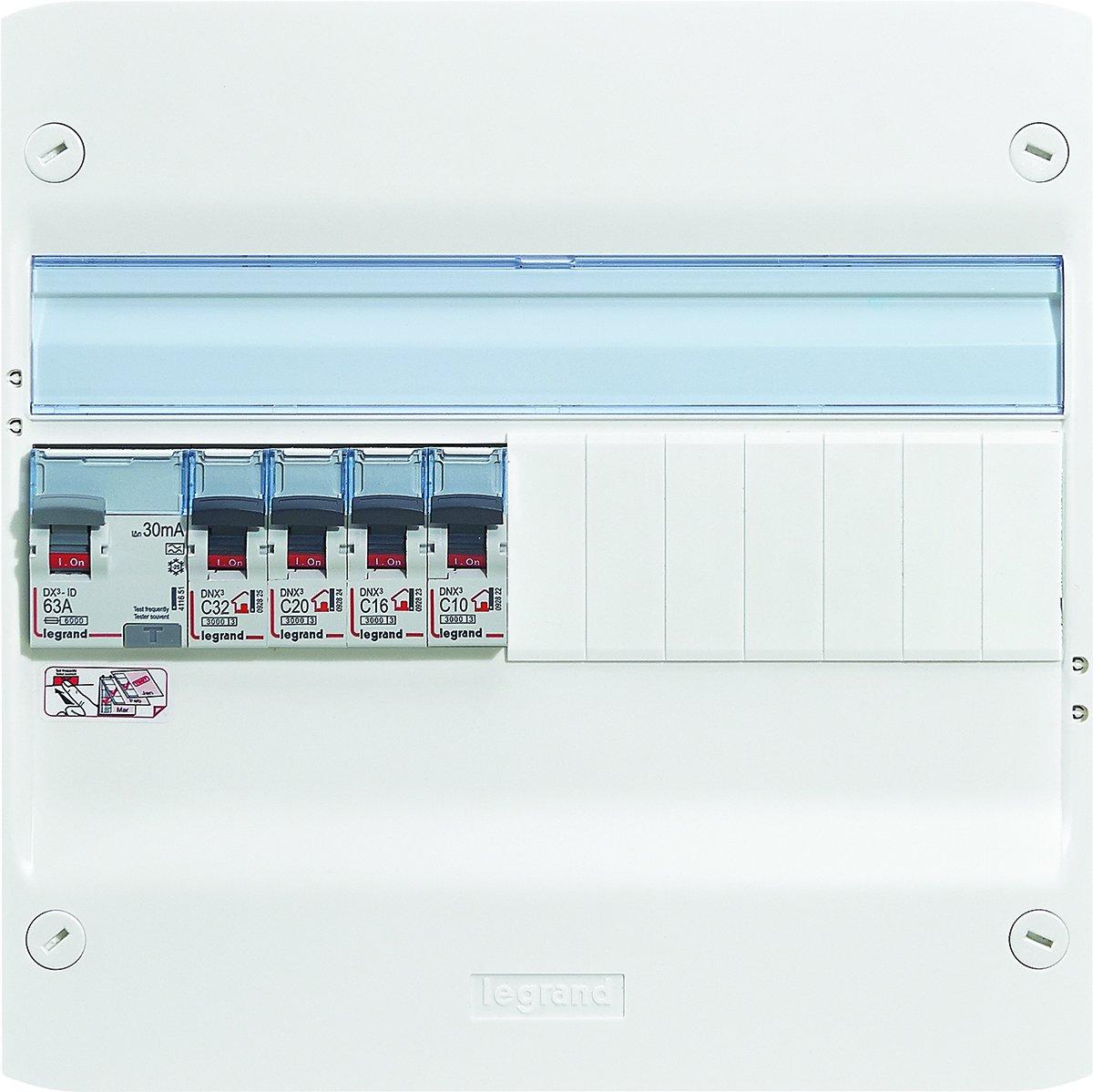 Legrand LEG93059 Tableau /électrique /équip/é essentiel sp/écial pour logement T6