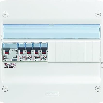 legrand electric fuse box, white, leg93061, 400 voltsv: amazon co uk: diy &  tools