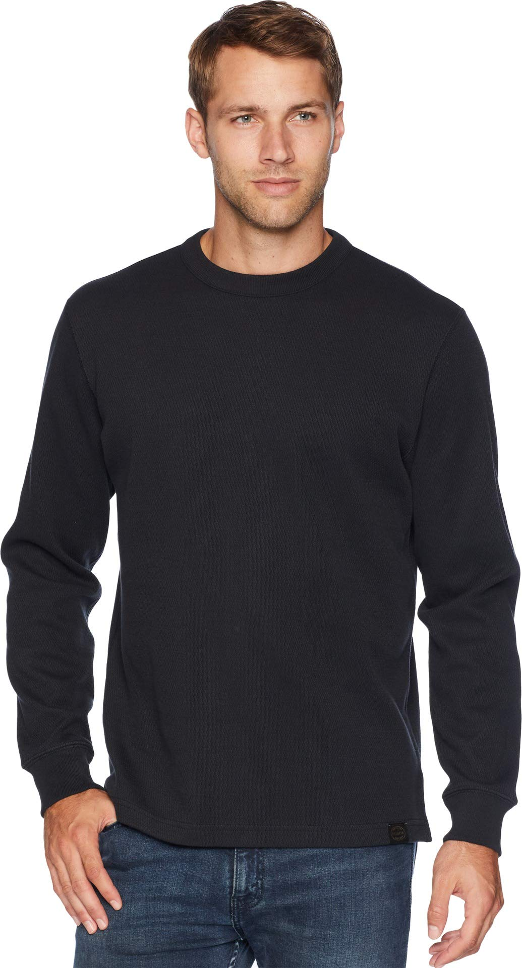 Filson Men's Waffle Knit Thermal Crew Neck Navy X-Large by Filson