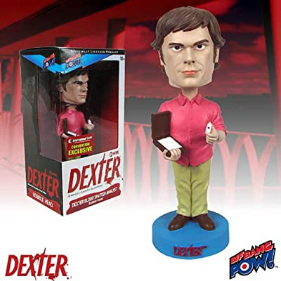 Bif Bang Pow Dexter Bobble Head Blood Spatter Analyst SDCC 2013 Exclusive