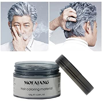 Amazon.com : EZGO Professional Hair Color Wax Natural Ash Matte Long ...