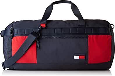 Tommy Hilfiger - Convertible Duffle, Shoppers y bolsos de hombro Hombre, Multicolor (Corporate), 31x31x56 cm (W x H L)