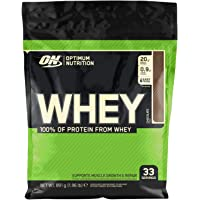 Optimum Nutrition ON Whey Whey Protein Powder Low Sugar Whey Protein Shake by ON - Chocolate, 33 Servings, 891g