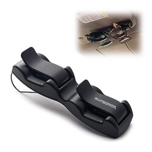 Superior Essentials Double Sunglasses-Glasses Holder for Sun Visor