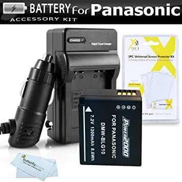 Kit de Batería y Cargador para Panasonic Lumix dmc-zs100 ...