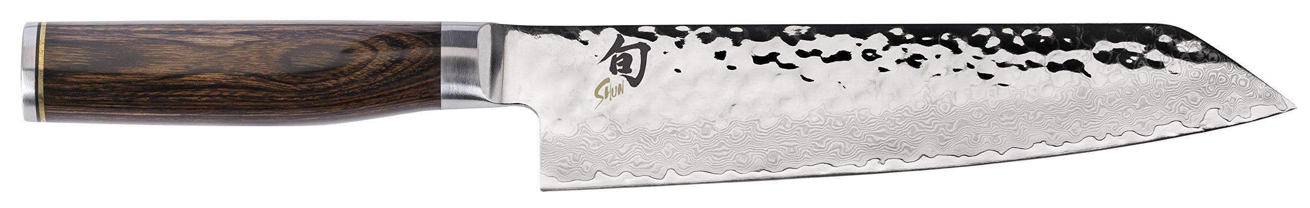 Shun TDM0771 Premier Kiritsuke Knife, 8'', Silver by Shun