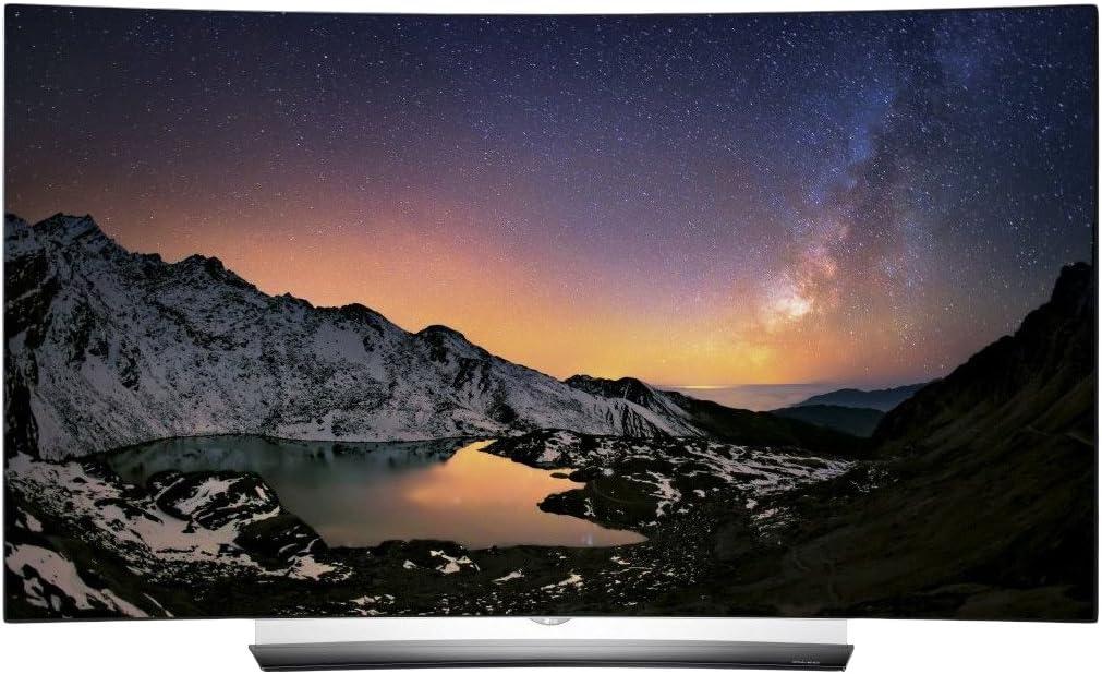 LG OLED65C6D 164 cm (65 Zoll) Curved OLED Fernseher (Ultra HD -