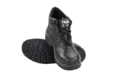 c3f6195c4a9 Image Unavailable. Image not available for. Colour  Mallcom Leopard S1BG High  Ankle Safety Shoes ...