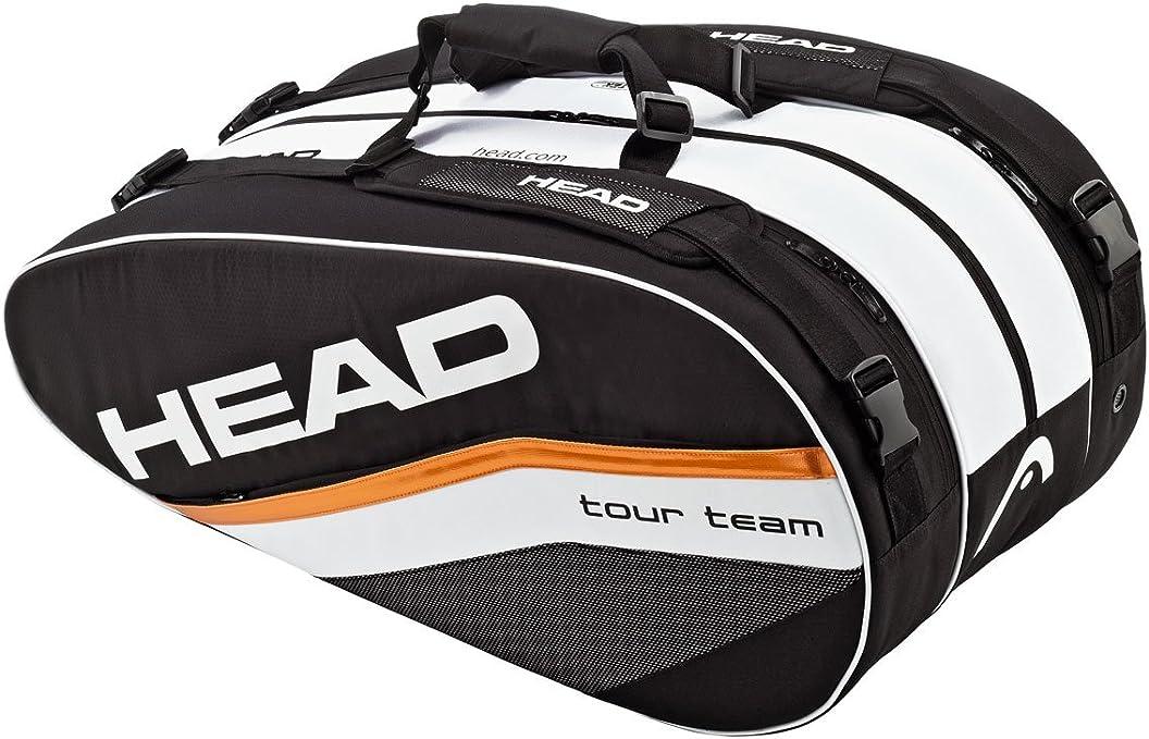 Amazon Com Head Djokovic Monstercombi Tennis Bag Sports Outdoors