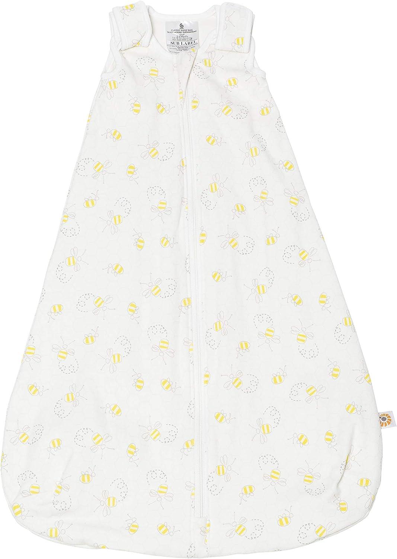 Ergobaby Classic Saco de Dormir Bebe Recién Nacidos, TOG 0.5, Multicolor (Bee Happy), 0-6 Meses