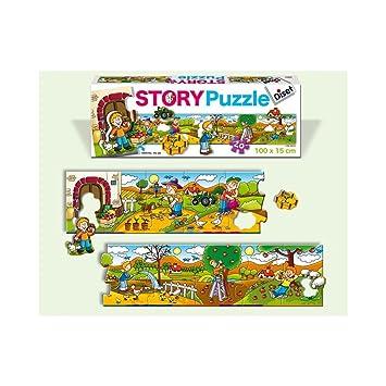 Diset Story Puzzle Planta Un A: Amazon.es: Juguetes y juegos