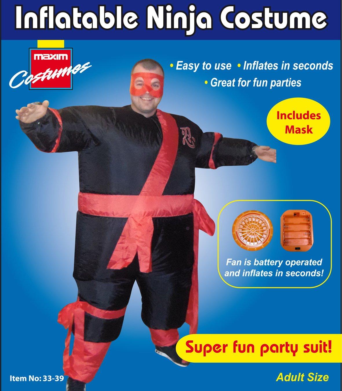 Disfraz de Luchador Ninja de Sumo Hinchable Fiesta de ...