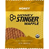 Honey Stinger Organic Waffle, Honey, Sports Nutrition, 1.06 Ounce (6 Count)