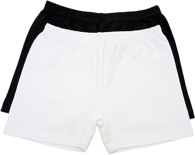 black cotton shorts for girls