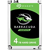 Seagate BarraCuda Internal Hard Drive 4TB SATA 6Gb/s 256MB Cache 3.5-Inch - Frustration Free Packaging (ST4000DMZ04)