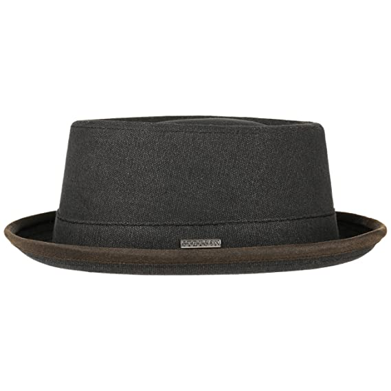 Stetson Canvas Pork Pie Hat Cloth Musician´s  Amazon.co.uk  Clothing 92084d2ba3a