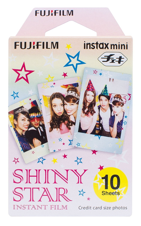 Fujifilm Instax Shiny Star Instant Mini Film - 10 hojas
