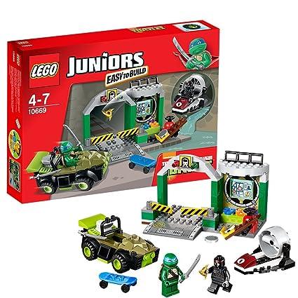 Amazon.com: LEGO guarida de Junior Mutant Ninja Tortugas ...