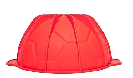 SFT313 Goal, Molde de Silicona balón, Color Rojo