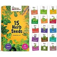 Set de semillas de hierbas Grow Buddha - Cultiva fácilmente 15 variedades de tus propias hierbas frescas con nuestra…
