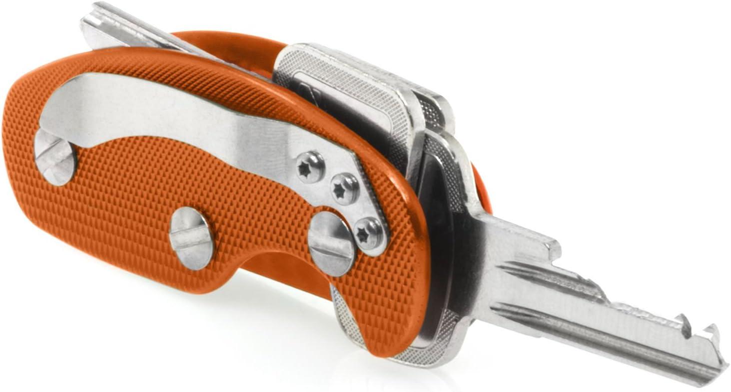 Orange Babotech Schl/üsselanh/änger Porte-cl/és 10 cm