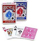 Bicycle Poker Size Jumbo Index Playing Cards