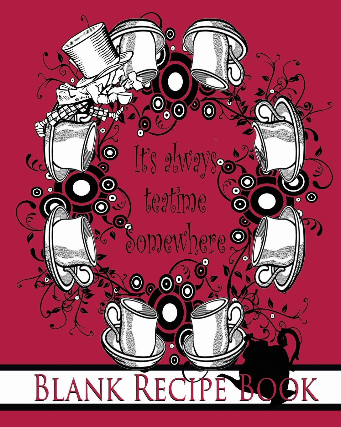 It's Always Teatime Somewhere: The Mad Hatter Blank Recipe Book: Alice's Adventures in Wonderland/ Through the Looking Glass (150th Anniversary 1865 - 2015 Keepsake Books Lewis Carroll) (Volume 6) pdf