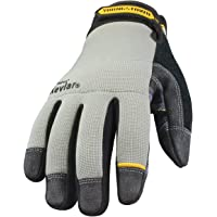 Youngstown Glove 05-3080-70-S General Utility lined with KEVLAR Glove Small, Gray