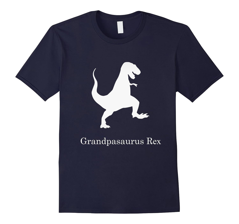 Mens Grandpasaurus Rex T Shirt Grandparents Day Grandpa Gift-RT