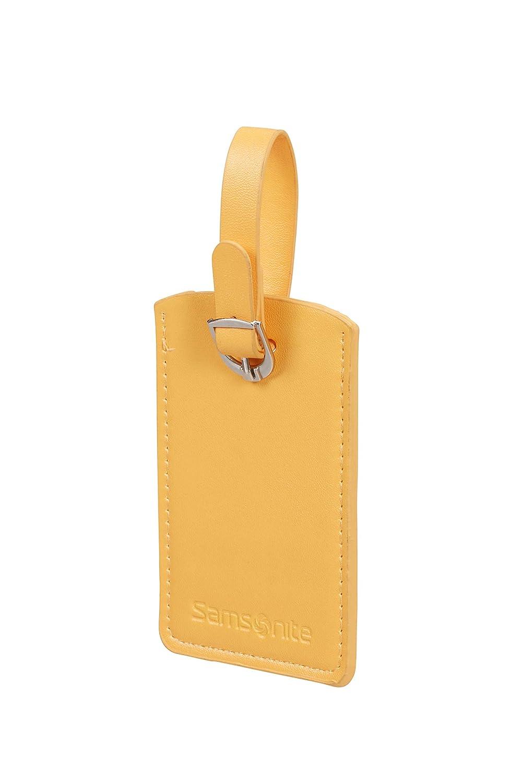 Sunflower SAMSONITE Global Travel Accessories Rectangle Etichetta per valigie 10 centimeters 1 Giallo