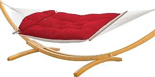 product image for Nags Head Hammocks Sunbrella Jockey Red NHTEQ Tufted Hammock