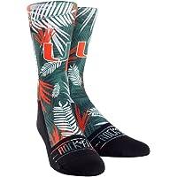 NCAA Miami Hurricanes Custom Athletic Crew Socks