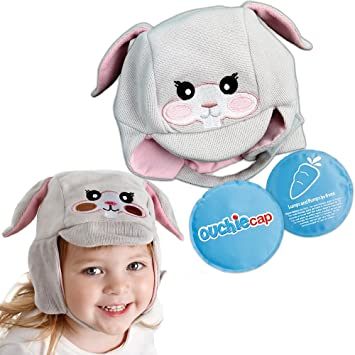 Amazon.com   Ouchie Cap - Cute Kids Wearable Compress - Hot and Cold Pain  Relief - Great for Bumps 3290da4a0a