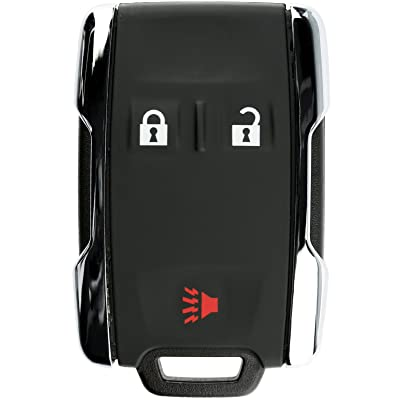 KeylessOption Keyless Entry Remote Control Car Key Fob Replacement for Chevy GMC M3N-32337100: Automotive
