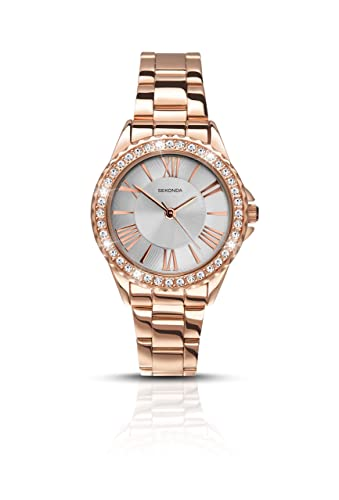 27ee8d22440 Sekonda Watches Womens Analogue Classic Quartz Watch with Stainless Steel  Strap 2358.27  Amazon.co.uk  Watches