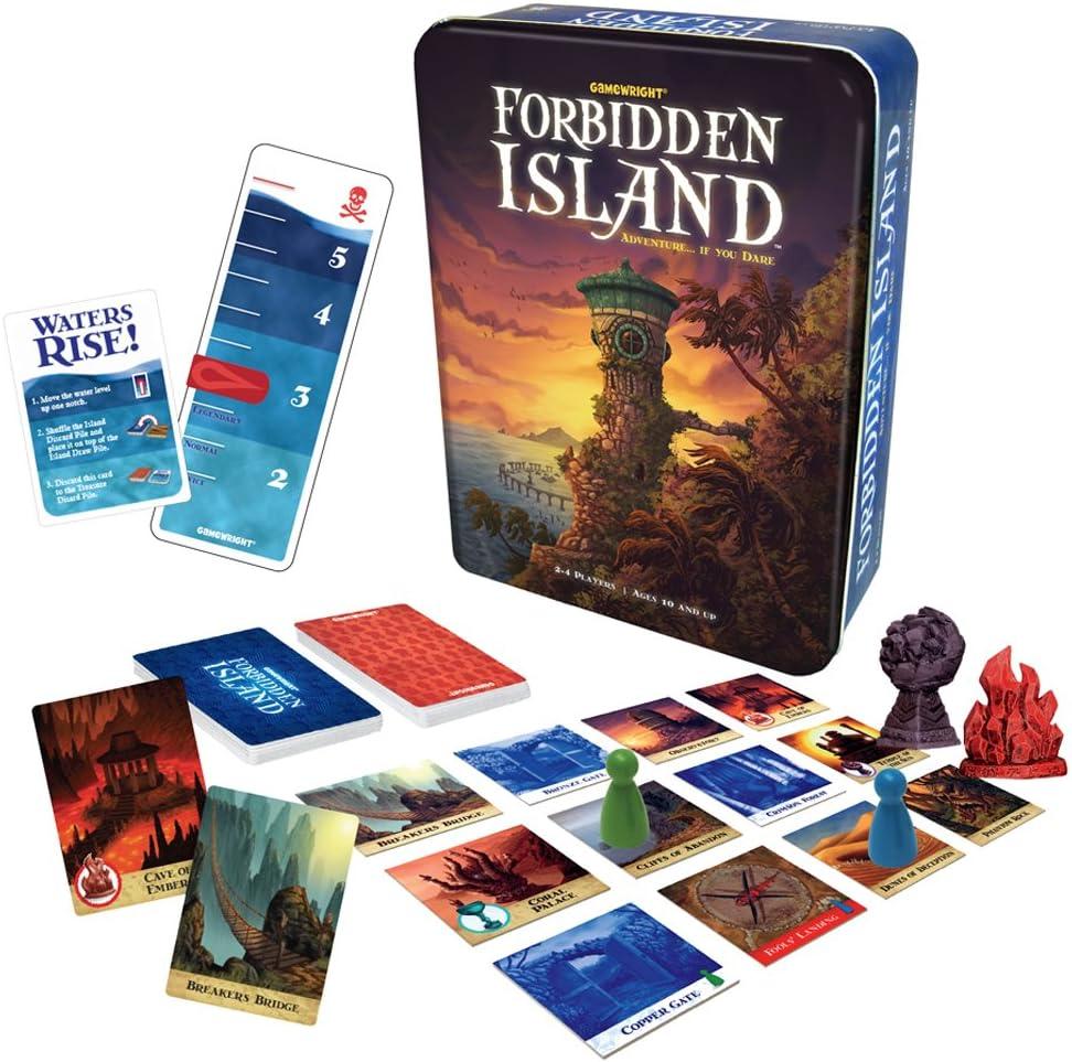 Gamewright Games Devir - La Isla Prohibida, Juego de Mesa (versión Inglesa): Amazon.es: Juguetes y juegos