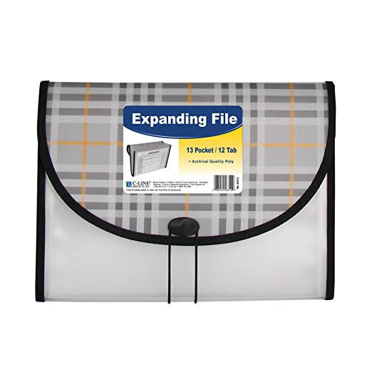 C-Line 13-Pocket Expanding File
