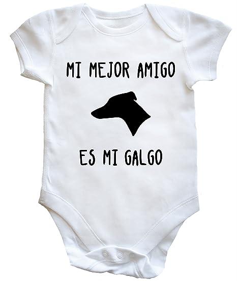 HippoWarehouse MI Mejor Amigo ES MI Galgo Body Bodys Pijama niños niñas Unisex
