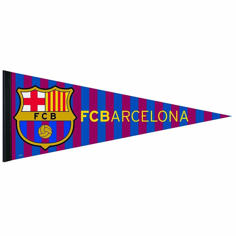 12 x 30-Inch INTL SOCCER FC Barcelona Premium Quality Pennant