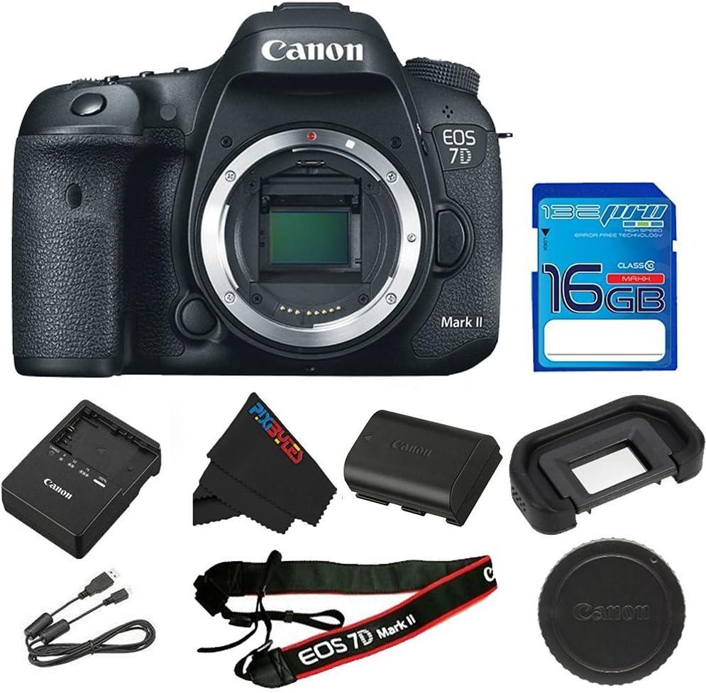 Canon EOS 7D Mark II cámara réflex Digital (Solo Cuerpo) + Tarjeta ...