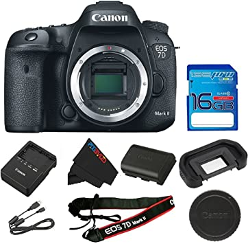 Amazon.com: Canon EOS 7d Mark II cámara réflex digital (solo ...