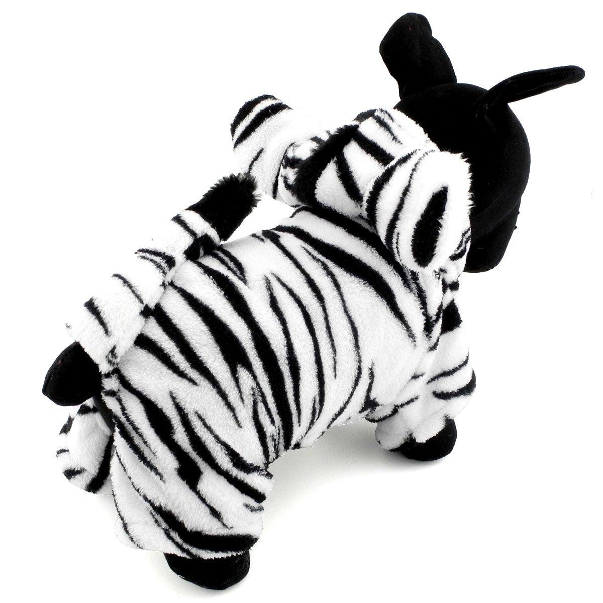 Pegasus Pet Ropa para Cachorro Perro Pequeño gato disfraz de cebra ...