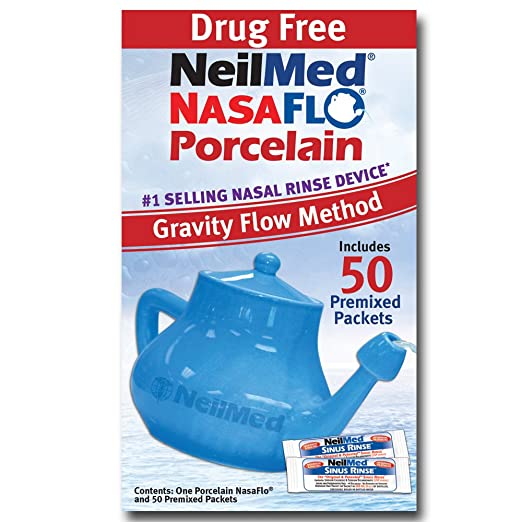 Amazon.com: NeilMed Nasaflo Neti Pot, NFP-ENU-US, Porcelana ...