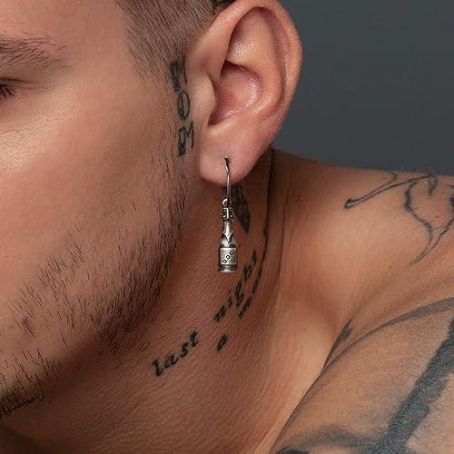 bijoux homme boucle d'oreille