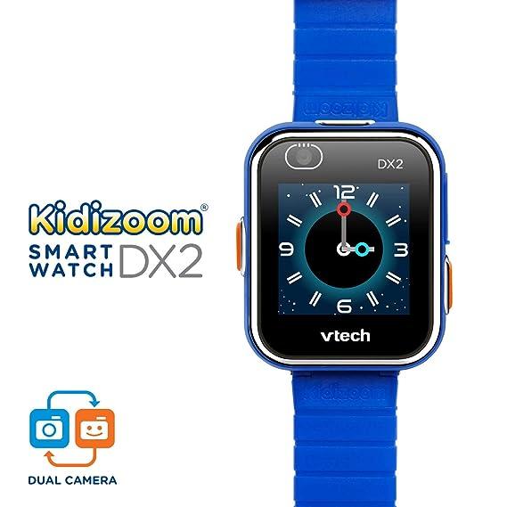 Amazon.es: VTech Kidizoom Smart Watch DX2 - Reloj inteligente para niños con doble cámara, color azul (3480-193822)