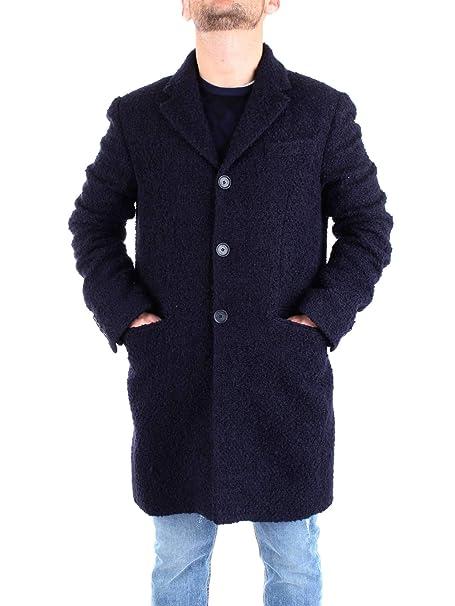 lowest price 416e5 88fee PATRIZIA PEPE 5S0617/A2VH Cappotto Uomo: Amazon.it ...